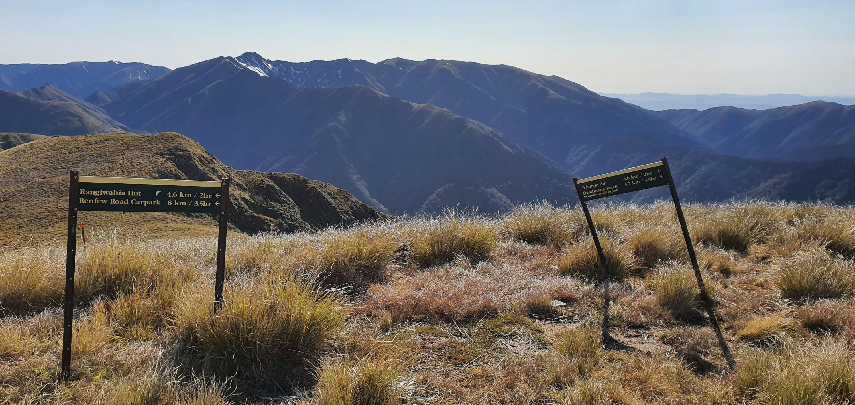 Rangiwahia Hut - Deadmans Track by John Alexander