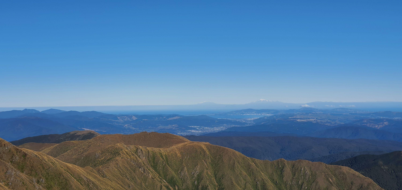 Mt Hector (From Otaki Forks) by John Alexander