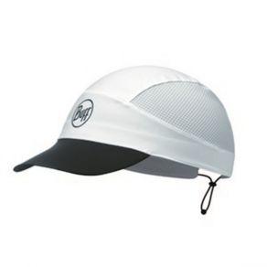 Buff Pack Run Cap - White