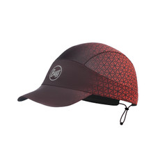 Buff Pack Run Cap - Jam Red