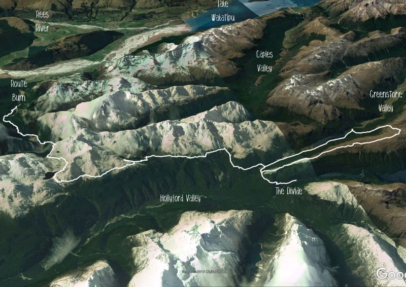 Whisky Trail and Routeburn