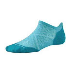 SMARTWOOL Womens PhD Run Light Elite Micro Socks - Light Capri