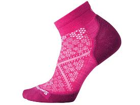 SMARTWOOL women's run socks - pink