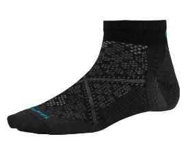 SMARTWOOL women's run socks - Black