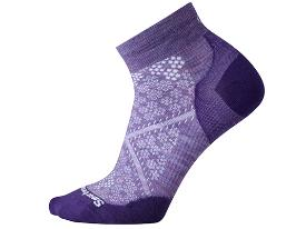 SMART WOOL women's run socks - Lavender