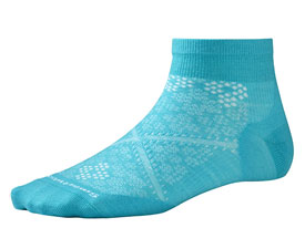 SMARTWOOL women's run socks - Light Capri