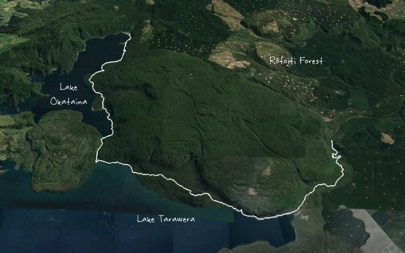 Eastern Okataina Walkway to Tarawera Falls