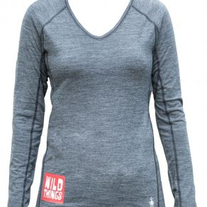 Wild Things Smartwool merino top - Womens