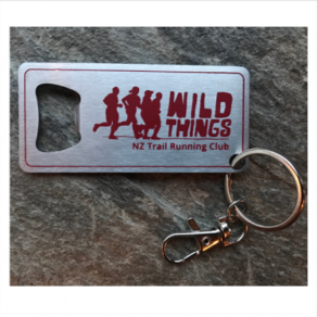 Wild Things Bottle opener/keyring