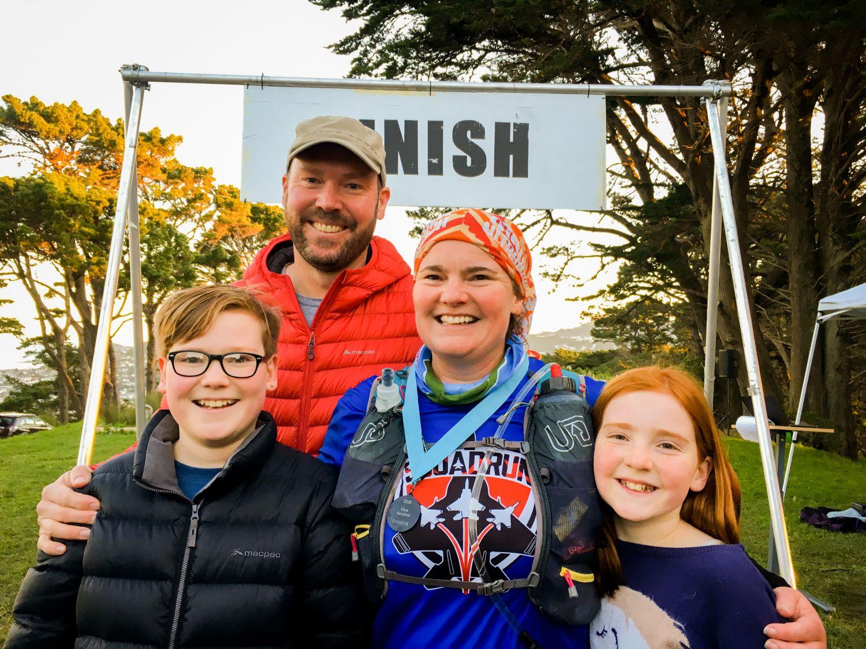 At the finish line of the WUU2K. Photo credit: Bern Stock/WUU2K